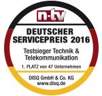 Stiftung Warentest - Mobilfunknetze Gut (2,5)